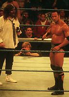 Mike Foley & Dwayne The Rock Johnson 1999<br /> Photo By John Barrett/PHOTOlink