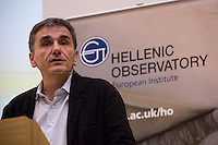 10.11.2015 - LSE Presents: Euclid Tsakalotos, Finance Minister of Greece