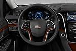 Car pictures of steering wheel view of a 2020 Cadillac Escalade-ESV Premium-Luxury 5 Door SUV Steering Wheel
