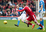 Aberdeen v St Johnstone…29.04.17     SPFL    Pittodrie<br />Steven Anderson<br />Picture by Graeme Hart.<br />Copyright Perthshire Picture Agency<br />Tel: 01738 623350  Mobile: 07990 594431