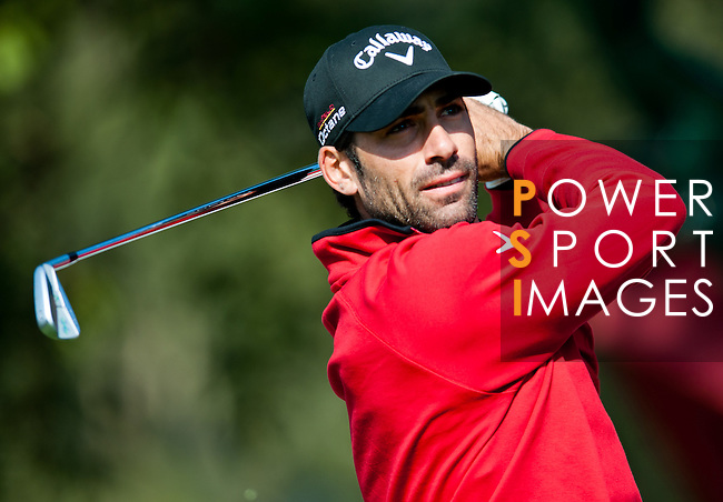 Alvaro Quiros in action  during Round 2 of the UBS Hong Kong Golf Open 2011 at Fanling Golf Course in Hong Kong on 2 December 2011. Photo ©  Andy Jones / The Power of Sport Images