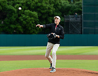 Stanford, California - April 5, 2019: Stanford Baseball defeats Oregon 3-2 at Sunken Diamond in Stanford, California.