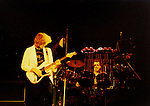 Alex Lifeson & Neil Peart of Rush live in NY in 1981.