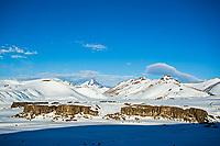Spectacular surroundings of Valle de los Condores, Chile