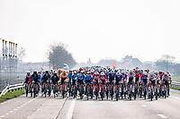 super wide peloton<br /> <br /> 45th Oxyclean Classic Brugge-De Panne 2021 (ME/1.UWT)<br /> 1 day race from Bruges to De Panne (204km)<br /> <br /> ©kramon