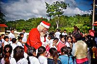 Santa Comes to Maya-land