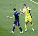 23.06.2021 Croatia v Scotland follow ups: David Marshall and Andy Robertson disagree