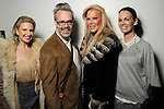 From left: Lori Freese, Michael Pearce, Theresa Roemer and Beth Muecke at the Light as Air Fashion show with leather fashions by Jose Sanchez and performances by Vault with Choreography by Amy Eli at Vault Houston Saturday Jan.10, 2015.(Dave Rossman For the Chronicle)