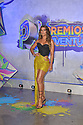 CORAL GABLES, FLORIDA - JULY 22: Clarissa Molina attends Premios Juventud 2021 - Arrivals at Watsco Center on July 22, 2021 in Coral Gables, Florida. ( Photo by Johnny Louis / jlnphotography.com )