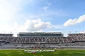 #10: Ross Chastain, Kaulig Racing, Chevrolet Camaro Nutrien Ag Solutions, #19: Brandon Jones, Joe Gibbs Racing, Toyota Supra Juniper, #22: Austin Cindric, Team Penske, Ford Mustang MoneyLion