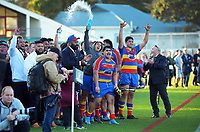 Action from the 2021 Jubilee Cup premier men's Wellington club rugby final between Marist St Pat's and Tawa at Hutt Recreation Ground in Lower Hutt, New Zealand on Saturday, 31 July 2021. Photo: Dave Lintott / lintottphoto.co.nz