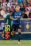 FC Internazionale Defender Jeison Murillo getting into the field during the International Champions Cup match between FC Bayern and FC Internazionale at National Stadium on July 27, 2017 in Singapore. Photo by Marcio Rodrigo Machado / Power Sport Images