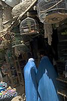 AFGHANISTAN, 06.2008, Kabul. Vogelverkauf auf dem Mandawi-Markt. | Bird sale at the Mandawi market.<br /> © Marzena Hmielewicz/EST&OST