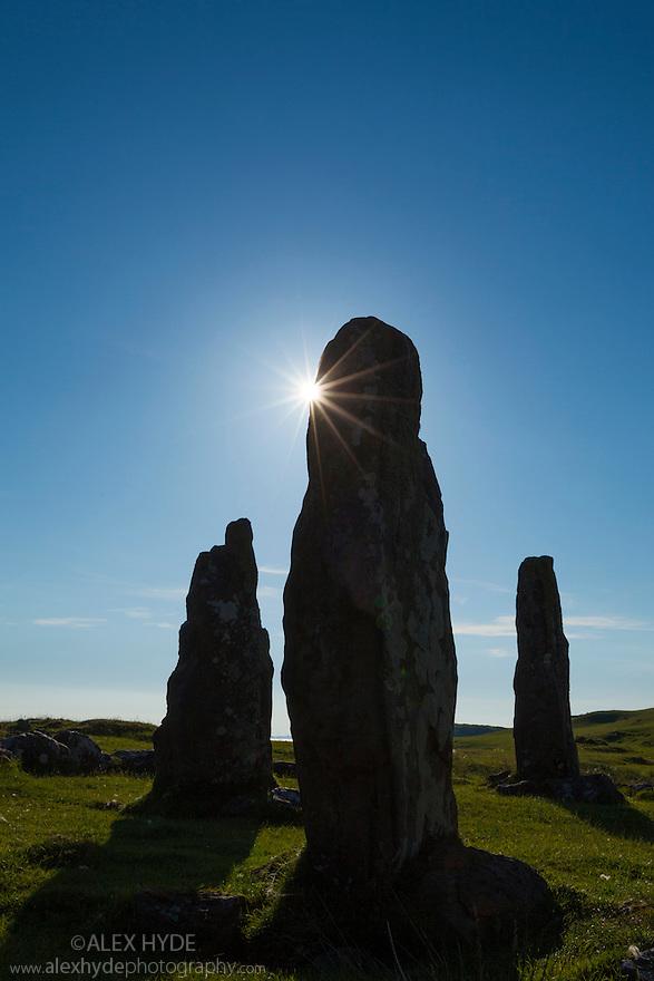 Glengorm stone circle, Isle of Mull, Scotland, UK.