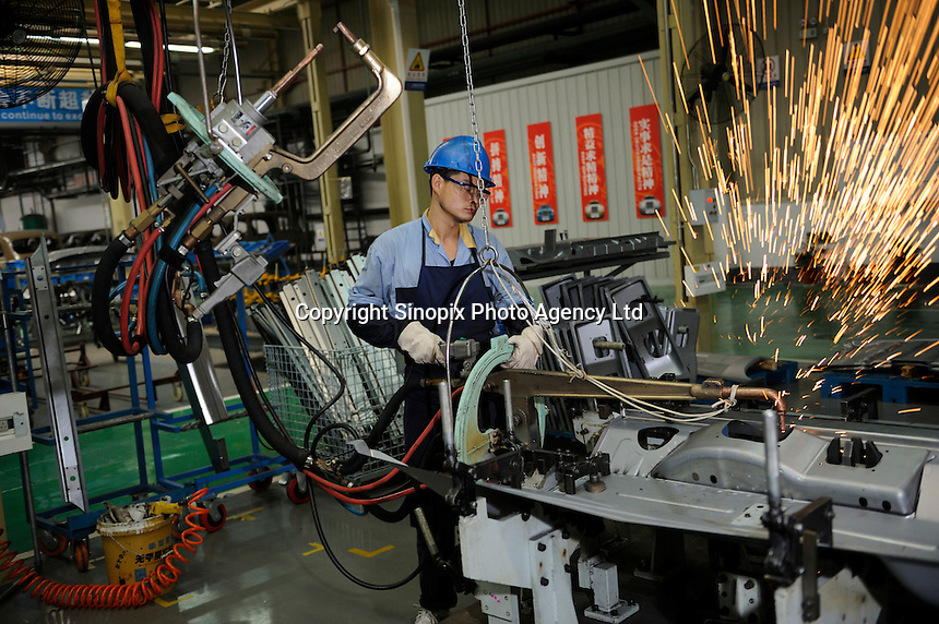 Factory of Shanghai LTI Automobile Components Co., Ltd.. SLTI is a joint venture established by Geely Holding Group and Manganese Bronze Holdings which co-owns black London taxi-maker. SLTI aims to launch the superior TX series in Chinese market and widely export all over the world..29 Oct 2009