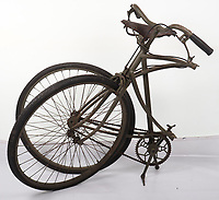 Rare folding bicycle a British paratrooper clung on to as they dropped behind enemy lines