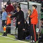 Copa del Rey 2013/2014 -16 final ida.<br /> UE Sant Andreu vs Atletico de Madrid: 0-4.<br /> Patxi Salinas.