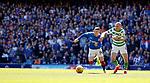 12.05.2019 Rangers v Celtic: Ryan Kent beats Scott Brown