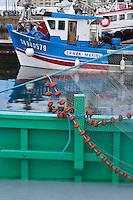 Europe/France/Pays de la Loire/44/Loire Atlantique/Presqu'île Guérandaise/La Turballe:  Sardinier au port de pêche   //   France, Loire Atlantique, Guerande Peninsula, La Turballe: Sardinier fishing port