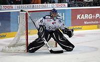Goalie Mike Bales (Straubing)<br /> Adler Mannheim vs. Straubing Tigers, SAP Arena<br /> *** Local Caption *** Foto ist honorarpflichtig! zzgl. gesetzl. MwSt. <br /> Auf Anfrage in hoeherer Qualitaet/Aufloesung. Belegexemplar an: Marc Schueler, Am Ziegelfalltor 4, 64625 Bensheim, Tel. +49 (0) 6251 86 96 134, www.gameday-mediaservices.de. Email: marc.schueler@gameday-mediaservices.de, Bankverbindung: Volksbank Bergstrasse, Kto.: 151297, BLZ: 50960101