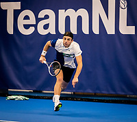 Amstelveen, Netherlands, 16  December, 2020, National Tennis Center, NTC, NK Indoor, National  Indoor Tennis Championships, :  Tallon Griekspoor  (NED) <br /> Photo: Henk Koster/tennisimages.com