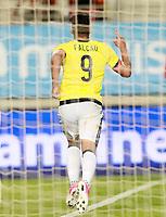 Colombia's Radamel Falcao celebrates goal during international friendly match. June 7,2017.(ALTERPHOTOS/Acero) (NortePhoto.com) (NortePhoto.com)