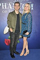 """Max Whitlock and Leah Hickton at the """"The Phantom Of The Opera"""" 35th anniversary gala performance, Her Majesty's Theatre, Haymarket, on Monday 11th October 2021, in London, England, UK. <br /> CAP/CAN<br /> ©CAN/Capital Pictures"""