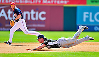 8 March 2010: Florida Marlins' outfielder Chris Coghlan in action during a Spring Training game against the Washington Nationals at Space Coast Stadium in Viera, Florida. The Marlins defeated the Nationals 12-2 in Grapefruit League action. Mandatory Credit: Ed Wolfstein Photo