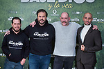 El Langui, the director of the film Curro Velazquez, Karra Elejalde and Alain Hernández attends to the presentation of the film 'Que baje Dios y lo vea' at URSO Hotel in Madrid, Spain. December 19, 2017. (ALTERPHOTOS/Borja B.Hojas)