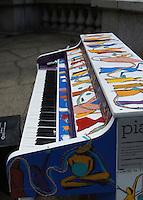 Sing For Hope 2015<br /> #SFHPianos<br /> Artist:Paolo Pecchi, Riverside Park North Rotunda @151st