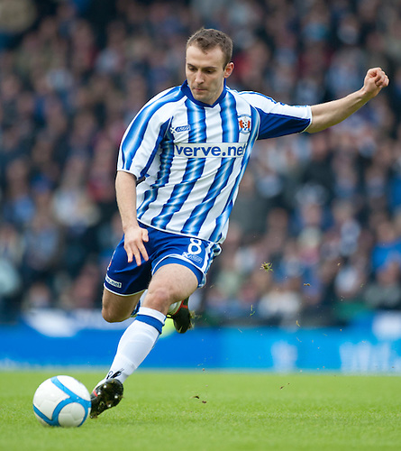 GLASGOW, SCOTLAND - JANUARY 28:  Kilmarnock's Liam Kelly during the Scottish Communities Cup Semi Final match between Ayr United and Kilmarnock at Hampden Park on January 28, 2012 in Glasgow, United Kingdom. (Photo by Rob Casey/Getty Images).