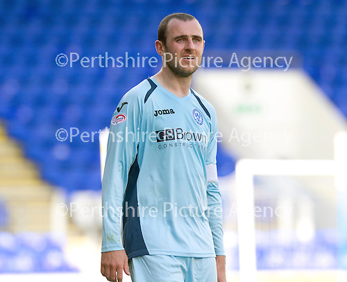 St Johnstone FC...Season 2012-13.Dave Mackay.Picture by Graeme Hart..Copyright Perthshire Picture Agency.Tel: 01738 623350  Mobile: 07990 594431