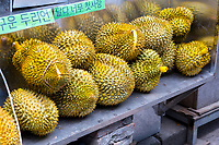 Yangshuo, China.  Durian for Sale.