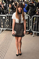 Georgia May Foote<br /> arriving for the TRIC Awards 2016 at the Grosvenor House Hotel, Park Lane, London<br /> <br /> <br /> ©Ash Knotek  D3095 08/03/2016