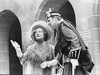 Royal Tours - Queen Mother Elizabeth (Canada 1974) Toronto (With Toronto Scottish Regiment)<br /> Griffin, Doug<br /> Picture, 1974