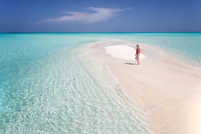 Deserted. Caicos Islands
