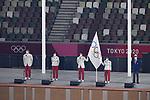 (L-R) Kosei Inoue, Reika Utsugi, Ryota Yamagata, Kasumi Ishikawa (JPN)<br />JULY 23, 2021 : <br />Tokyo 2020 Olympic Games Opening Ceremony at the Olympic Stadium in Tokyo, Japan. <br />(Photo by MATSUO.K/AFLO SPORT)