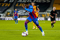 30th October 2020; Molineux Stadium, Wolverhampton, West Midlands, England; English Premier League Football, Wolverhampton Wanderers versus Crystal Palace; Wilfried Zaha of Crystal Palace breaks into the box