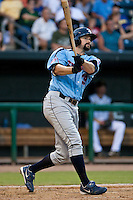 Matthew Spencer of the Tennessee Smokies during a game vs. the Jacksonville Suns July 10 2010 at Baseball Grounds of Jacksonville in Jacksonville, Florida. Photo By Scott Jontes/Four Seam Images