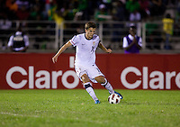 Marc Pelosi. The United States played Jamaica during the CONCACAF Men's Under 17 Championship at Catherine Hall Stadium in Montego Bay, Jamaica.