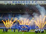 15.05.2021 Rangers v Aberdeen: Rangers lift Premiership trophy