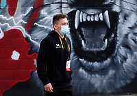 6 March 2021; Michael Lowry arrives for the Guinness PRO14 match between Ulster and Leinster at Kingspan Stadium in Belfast. Photo by John Dickson/Dicksondigital