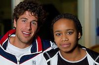 2011-02-01 Robin Haase and Rhonda de Lang