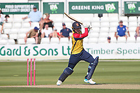 Josh Rymell hits 4 runs for  Essex during Essex Eagles vs Middlesex, Vitality Blast T20 Cricket at The Cloudfm County Ground on 18th July 2021