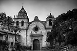 Facade of Old California Mission
