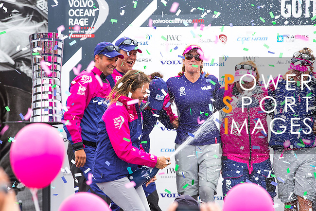 Teams sail during the Inmarsat In-Port Race Gothenburg as part of the Volvo Ocean Race stopover on June 27, 2015 in Gothenburg, Sweden. Photo by Victor Fraile / Power Sport Images