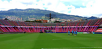 MEDELLIN - COLOMBIA,15-10-2020:Panorámica del estadio Atanasio Girardot previo al partido  entre el Independiente Medellín y Jaguares de Córdoba por la fecha 14 de la Liga BetPlay DIMAYOR I 2020 jugado en el estadio Atanasio Girardot de la ciudad de Medellín / Panoramic view of Atanasio Girardot stadium prior a match between   Independiente Medellin and Jaguares de Cordoba   for the date 14 BetPlay DIMAYOR League I 2020 played at  Atanasio Girardot de stadium in Medellin  city. Photos: VizzorImage / Donaldo Zuluaga / Contrbuidor