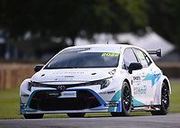 9th July 2021;  Goodwood  House, Chichester, England; Goodwood Festival of Speed; Day Two; James Cole drives a Toyota Corolla BTCC Hybrid in the Goodwood Hill Climb