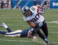 North Carolina tight end Jack Tabb (80). The North Carolina Tar Heels defeated the Pitt Panthers 34-27 at Heinz Field, Pittsburgh Pennsylvania on November 16, 2013.