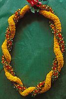 Ehu pua and ilima lei, a traditional Hawaiian lei